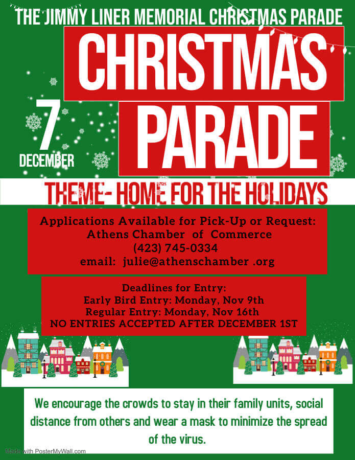 When Is The Athens Christmas Parade 2020 Jimmy Liner Memorial Christmas Parade | Athens